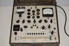 Hickok Model 539a Vacuum Tube Tester in original box powers up