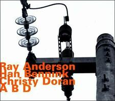ABD by Han Bennink/Ray Anderson/Christy Doran (CD, Aug-2011, Hatology)