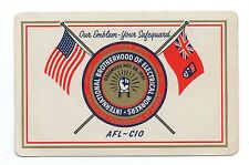 1959 Pocket Calendar AFL CIO Int'l Brotherhood of Electrical Workers