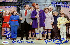 PSA Autographed Photo - Willy Wonka And The Chocolate Factory