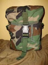 US Army Military MOLLE MRE Utility Sustainment Pouch Woodland camouflage Tasche