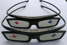 2 XGenuine Samsung SSG-5100GB shutter 3D Glasses for Samsung 3D TV