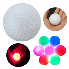 Color changing Night Light-up Color Flashing Glowing Electronic Golf Ball QD