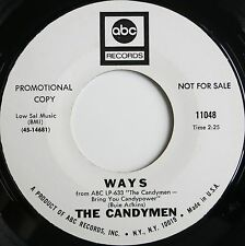PSYCH / 60S POP 45 THE CANDYMEN ON ABC HEAR - VERSAND KOSTENLOS AB 5 45S!