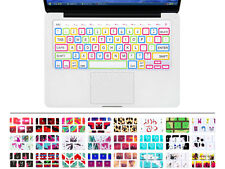 Big Fonts Style Silicone Keyboard Cover Skin for MacBook Pro Air Retina 13 15 17