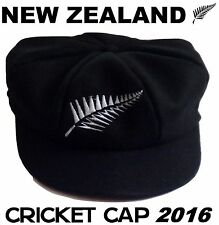 New Zealand Cricket Blackcaps 2016 Baggy Black Cap Hat.Test T20. Kane Williamson