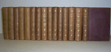 The Works of WASHINGTON IRVING. 1854. 15 Volume Set. w/maps. G.P. Putnam & Co.