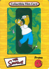 SIMPSONS FILM CARDZ YELLOW PROMOTIONAL CEL CARD