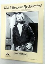 MICHAEL MARTIN MURPHEY Sheet Music WILL IT BE LOVE BY MORNING 80's COUNTRY
