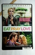 EAT PRAY LOVE JULIA ROBERTS REGULAR ART MINI POSTER BACKER CARD (NOT A movie )