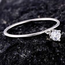 child ring size 6.5 kids jewelry free shipping white gold filled womens pinky