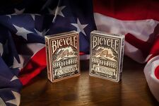 Bicycle U.S. Presidents Red & Blue Playing Cards Set Brand New Sealed