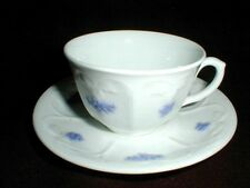 Adderley English Bone China BLUE CHELSEA Cup Saucer/s