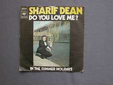"SG 7"" 45 rpm 1972 SHARIF DEAN - DO YOU LOVE ME ? - IN THE SUMMER HOLIDAYS"