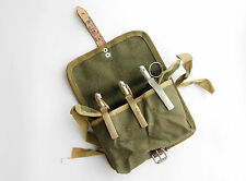 POUCH FOR 3 GRENADE - WARSAW PACT - POLISH ARMY POLAND - HOLSTER BAG RG42 F1