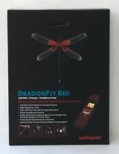 NEW AudioQuest DragonFly Red 2.1V USB Digital Audio Converter - DRAGONFLYRED