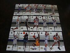 2002-03 Upper Deck Glass Basketball--Lot Of 15--Stars Only--Multi-Lots--See List