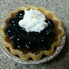 "3"" 3D Blackberry Pie 3D   With Soy and Gel Wax.Dessert Candles that looks YUMMY"