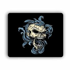 "Water Skull Computer Gaming Mouse Mat Pad   8""x 10""  Desktop Laptop Mouse"