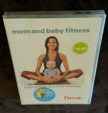 Mom and Baby Fitness: Yoga, Pilates & Baby Massage (DVD) Parents Magazine NEW
