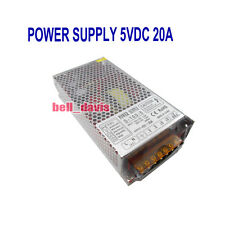 S-100-5 Super Stable Power supply unit 100W DC 5V 20AMP
