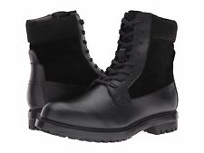 Men's Calvin Klein Gable Boot Black Leather SZ 10 MSRP 165$