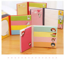 KAWAII!!! Funny Sticker Paste Bookmark Point It Marker Memo Flags Sticky Notes A