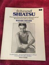 WATARU OHASHI, DO-IT-YOURSELF SHIATSU. 0046130373