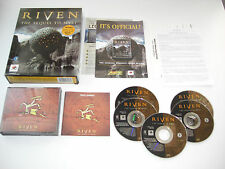 MYST II 2 RIVEN Pc Cd Rom / MAC Original BIG BOX  Fast , Secure Post