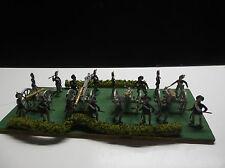 Ancien Joli petit diorama Soldats empire en plastique