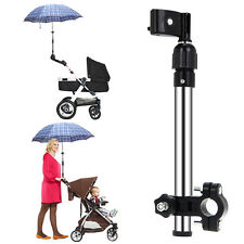 Baby Push Pull Bike Pram Stroller Accessory Umbrella Holder Wheelchair Golf Club
