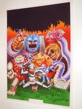 Ghosts 'n Goblins ~ A3 Size Poster / Print ~ NEW