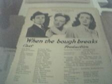 newspaper article 1947 - an ideal husband production 2 page