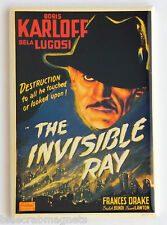 The Invisible Ray FRIDGE MAGNET (2.5 x 3.5 inches) movie poster boris karloff