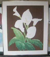 """Warren Woodward """"Calli Lillie"""" Signed Limited Edition 16/500 Serigraph Printing"""