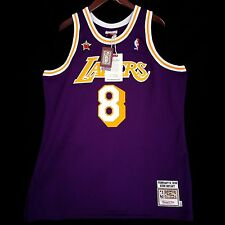 100% Authentic Kobe Bryant Mitchell Ness 98 All Star Lakers NBA Jersey Sz 48 XL