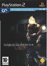 TWISTED METAL BLACK ONLINE for Playstation 2 PS2 - with box & manual - PAL