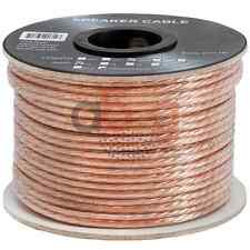 100 FT Feet True 12 GA Gauge AWG Speaker Wire Cable Car Home Audio 2 Conductor