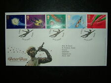 2002 PETER PAN ROYAL MAIL FDC & HOOK SHS CV £8.50