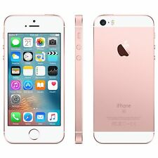 New Apple iPhone SE 64GB Rose Gold GSM AT&T T-Mobile Unlocked Smartphone