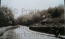 PRINT 10 X 7  BURGHFIELD HILL BERKSHIRE C1902