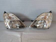 JDM 00-03 Honda Stream RN1 RN3 HID Zenki Headlights Lights Lamps Set OEM