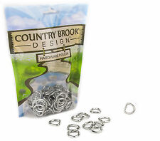 50 - Country Brook Design™ 1/2 Inch Welded D-Rings