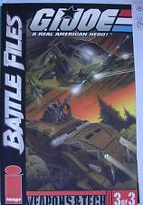 G I JOE BATTLE FILES 3 ( Image / Devil's Due / HASBRO 2002)  WEAPONS & TECH