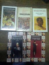 Lot de 5 livres de Shakespeare 12 titres