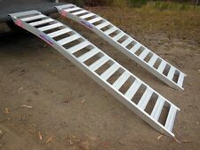 1 tonne Capacity Mower Ramps Curved 2.3 metres L x 390mm W Australian Made