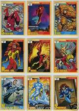 1991 MARVEL UNIVERSE SERIES II 2 IMPEL COMPLETE SET #1-162 X-Men