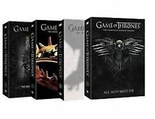 Game Of Thrones Season 1-4 Complete Seasons 1,2,3,4 DVD - FREE SHIPPING!!!