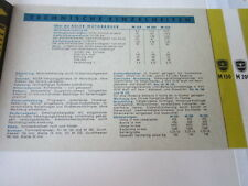 Motorrad Archiv Edition Faksimile 1086E Adler M 150 M 200 M250 Prospekt 1953