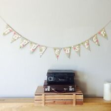❤️HAPPY EASTER Bunting Banner. Vintage Hessian Burlap❤️